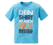 T-Shirt Sprüche T-Shirt für Jungen aqua