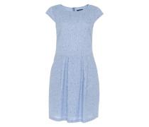 Kleid 'Wolantha brush' blau