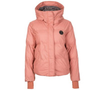 Core Mid Length Puffer Winterjacke pink