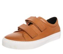 Sneaker 'Elpique' mit Klettverschluss cognac