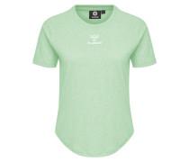 T-shirt weiß / grün
