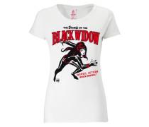 T-Shirt - Black Widow weiß