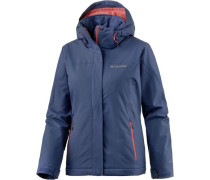Everett Mountain Softshelljacke Damen violettblau / rot