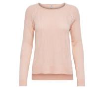 Rundhalspullover »Rose« pink