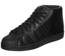 Superstar Pro Model Sneaker schwarz