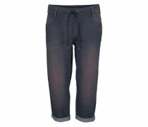 3/4-Hose blue denim