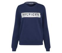 Sweatshirt 'Tamita' dunkelblau / silber
