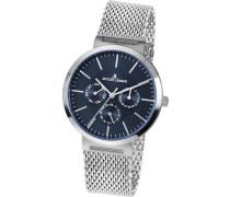 Uhr 'Milano 1-1950H' silber / blau