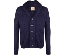 Strickjacke 'shawl Collar' blau