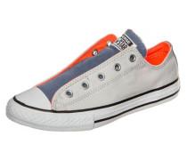 Sneaker 'Chuck Taylor All Star Slip OX' beige / himmelblau / neonorange