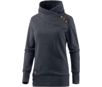 'Nest' Sweatshirt Damen blaumeliert