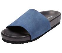 Leder-Sandalen blau