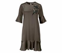 A-Linien-Kleid taupe