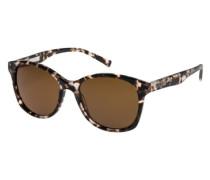 Sonnenbrille »Thalia« dunkelbeige / kastanienbraun