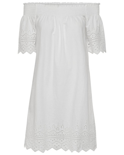 Kleid naturweiß