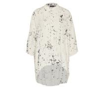 Oversized Bluse 'Sia' schwarz / weiß