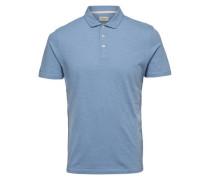 Poloshirt Klassisch blau