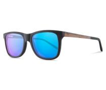 Sonnenbrillen Justus Matt Black braun / schwarz