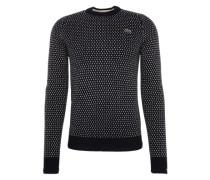 Pullover marine / grau