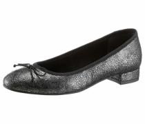 Ballerina schwarz / silber