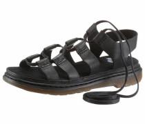 Römersandale 'Ghillie Sandal' schwarz