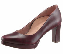Plateaupumps 'Heart & Sole' bordeaux