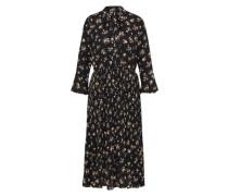 Kleid 'Roza' puder / schwarz
