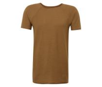 T-Shirt 'raglan Structure' oliv