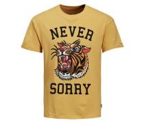 Print T-Shirt senf
