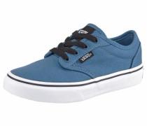 Sneaker himmelblau / schwarz / weiß