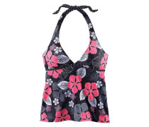 "Tankini-Top ""City"" anthrazit / pink / schwarz"