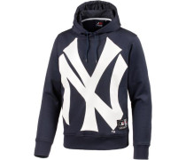 'New York Yankees' Hoodie Herren navy / weiß