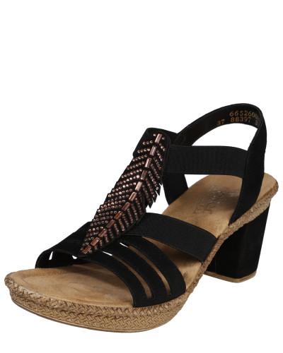 Sandalette 'Spinal' schwarz