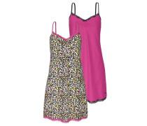 Nachthemden (2 Stück) gelb / pink