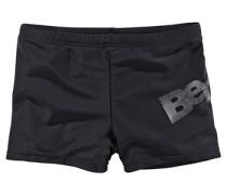 Boxerbadehose schwarz