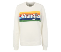 Sweater 'Rainbow' mischfarben / weiß