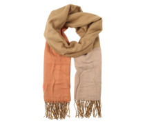 Schal 'Various Coloured Sections' camel / orange