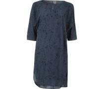3/4-Arm-Kleid dunkelblau / schwarz
