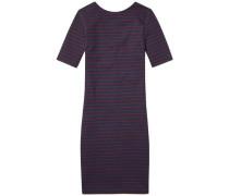Hilfiger Denim Kleid 'thdw Basic Stripe Dress 3/4 SLV 15' ultramarinblau / rot