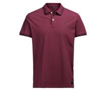 Klassisches Poloshirt rot
