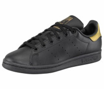 Stan Smith Sneaker gold / schwarz