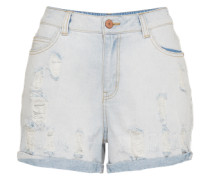 Shorts 'NM Harper' blau