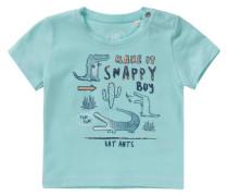 Baby T-Shirt für Jungen blau / türkis / orange
