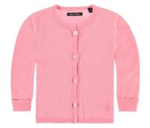 Junior Strickjacke aus Bio-Baumwolle Mädchen Baby rosa