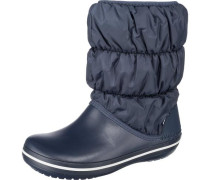 Winter Puff Stiefel blau