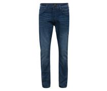 Straight Leg Jeans 'Daren' blue denim