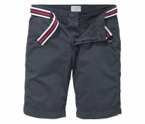 Shorts (Set mit Gürtel)