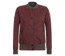 Female Jacket 'U like dirty' aubergine