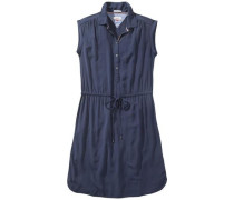 Kleid 'Basic shirt dress s/s 4' navy