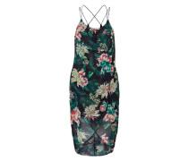 Kleid mit Blumen mischfarben